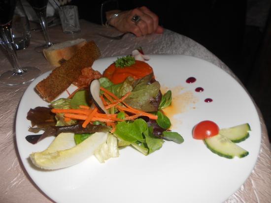 Plat Original Picture Of Hotel Restaurant De La Poste Chateauneuf De Randon Tripadvisor