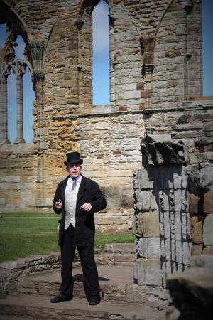 Whitby Abbey Dracula Story 23/4/2016