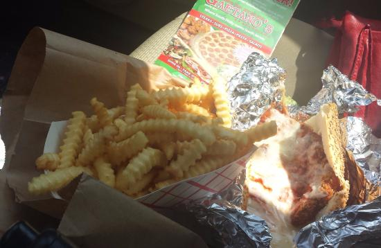Brooklawn, NJ: Chicken Parm and fries