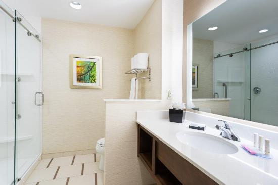 Fort Stockton, Техас: King Room Bathroom