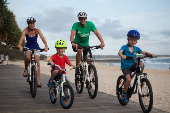 Noosa, Australia: Bike Hire for all of the Family...