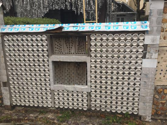 Front Fence Picture Of Beer Can House Houston Tripadvisor