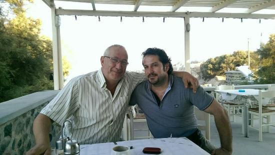 Karterádhos, Griechenland: Takis & I