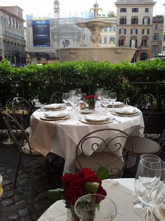 Camponeschi wine bar and restaurant foto di ristorante camponeschi roma tripadvisor - Ristorante con tavoli all aperto roma ...
