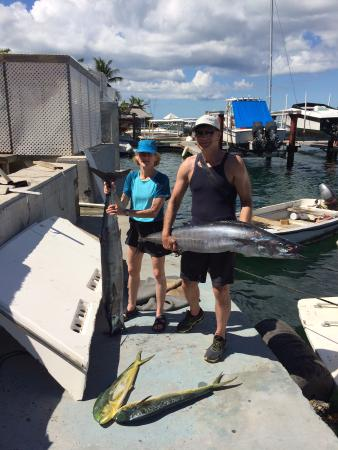 Simpson Bay, St Martin / St Maarten: Great Fishing! Great Time! Great Eating!