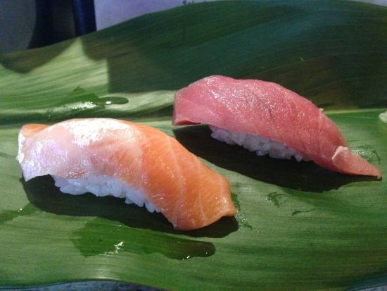 San Anselmo, Kalifornia: Looks like salmon and tuna. Happiness.