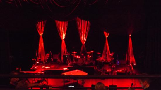 Stage at the National