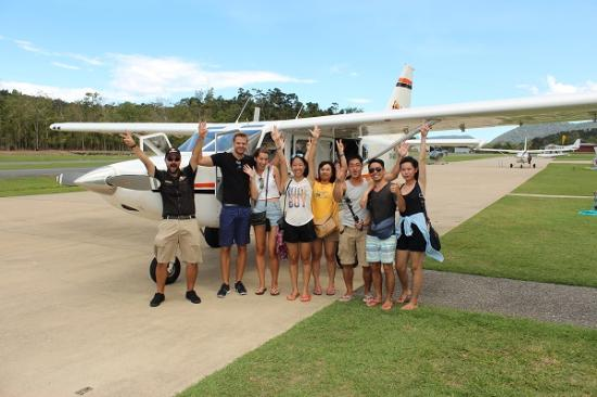 Scenic Flight Group Photo