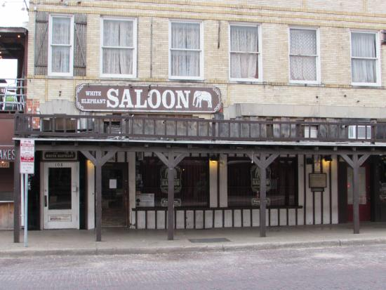 White Elephant Saloon: Texas style bar