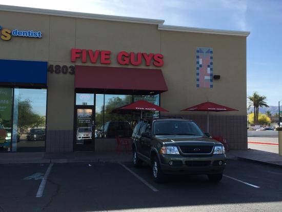 Storefront  - Picture of Five Guys, Phoenix - TripAdvisor