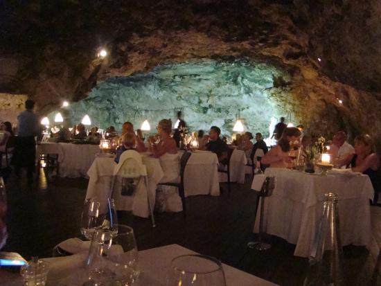 Grotta palazzese picture of ristorante grotta palazzese for Grotta palazzese restaurant menu