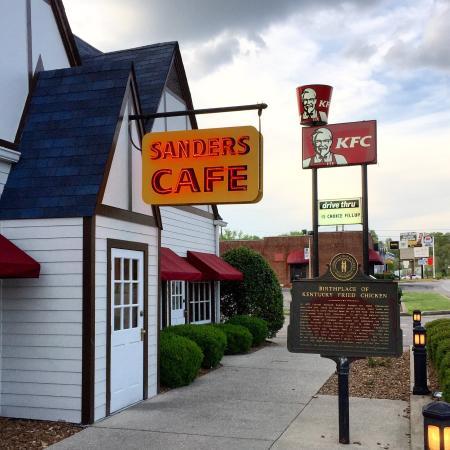 Birthplace of Kentucky Fried Chicken in Corbin, Kentucky ...
