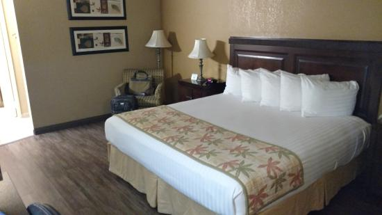 BEST WESTERN Hospitality Lane: Room does look nice though...