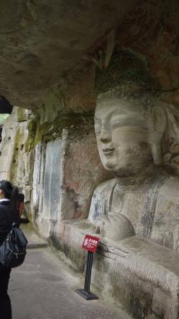 Dazu County, China: 石像の大きさはさまざま