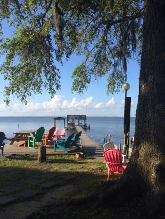 Bay Breeze RV Park : Bay view