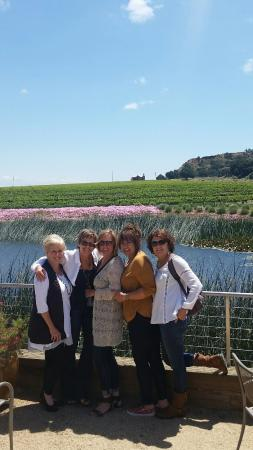 Breakaway Tours & Event Planning: Stunning property at Wrath Winery in the Santa Lucia Highlands