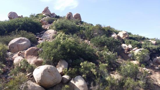 Poway, Califórnia: trail landscape