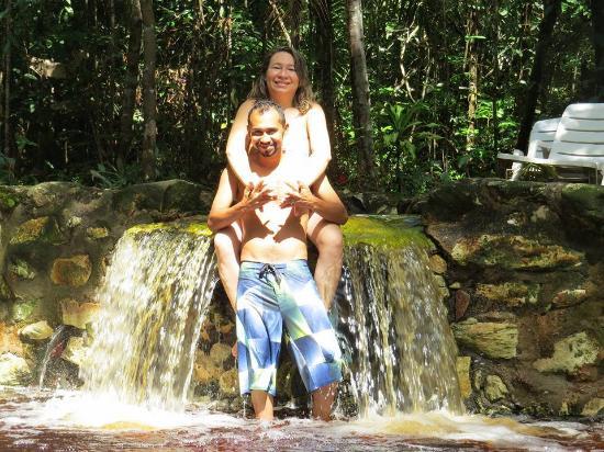 Amazon Ecopark Jungle Lodge: essa e uma area que tem uma piscina natural maravilhosa.