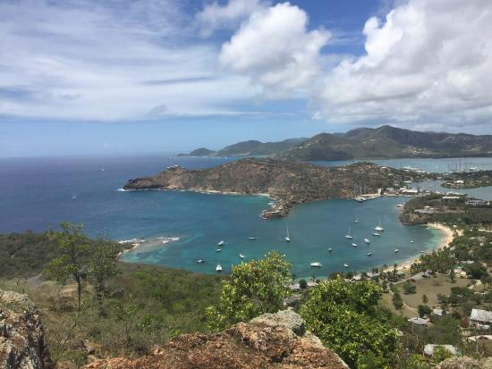 Voyages Antigua Tours and Services : The view from Shirley's Look Out or Shirley's Heights