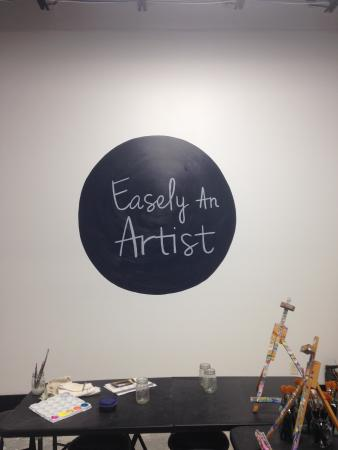 Easely an Artist: Creation wall