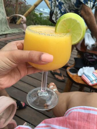 San Juanillo, Costa Rica: Delicious drinks and tasteful food best experience of my life. Karen is an amazing cook and Jack