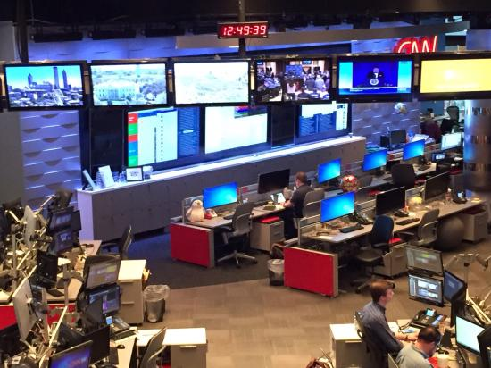 interior building picture of cnn studio tours atlanta