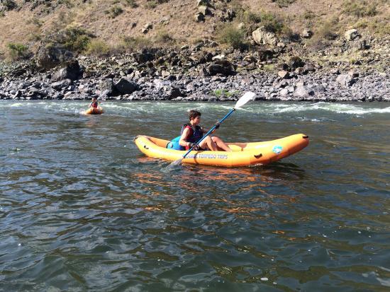 Riggins, ไอดาโฮ: River fun!