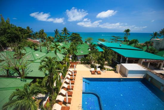 Lamai Coconut Beach Resort : Overview From Building