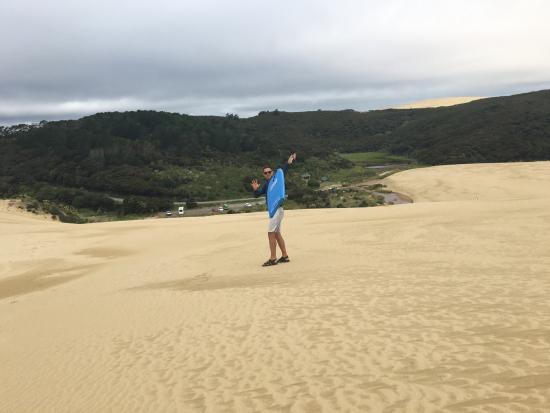 Pukenui, Nueva Zelanda: Ветрище был ОГО ГО