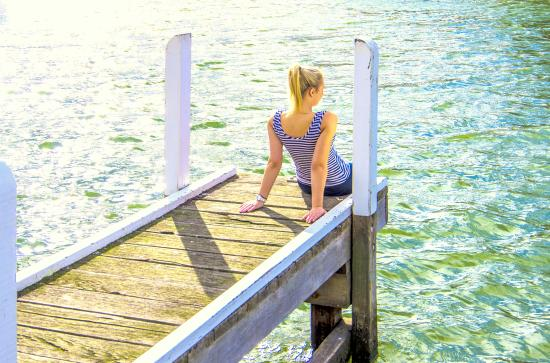 Paynesville, Australia: Relaxing at your doorstep