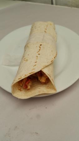 Robe, Australia: Chicken BBQ Wrap