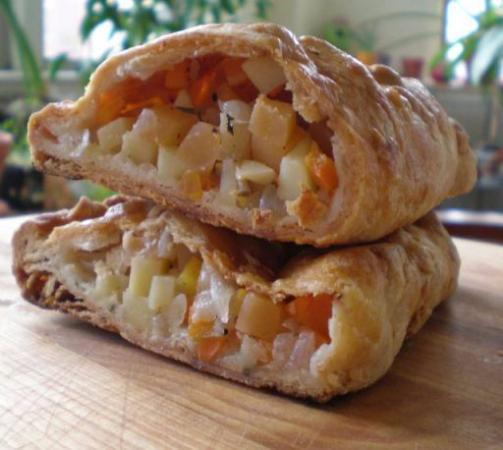 Robe, Australia: Meat and Veg Pastie
