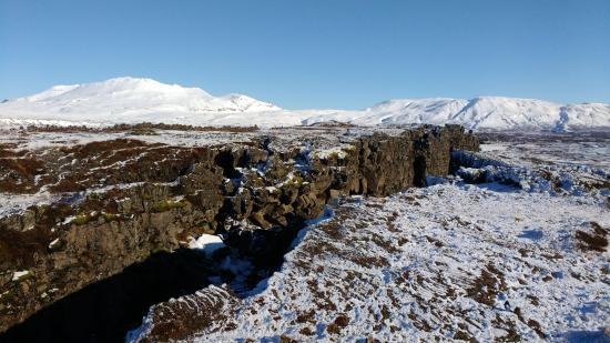 Thingvellir rift valley