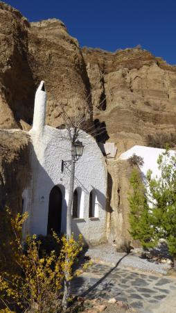 En av grottorna
