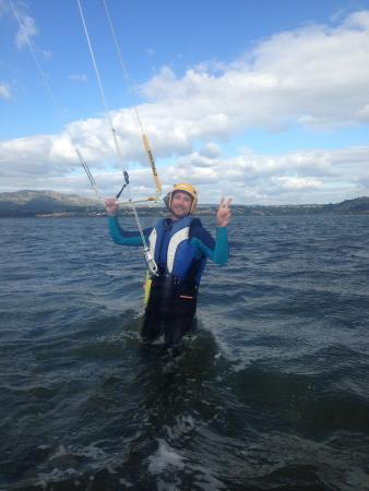 La Palme, فرنسا: élève cours de kitesurf