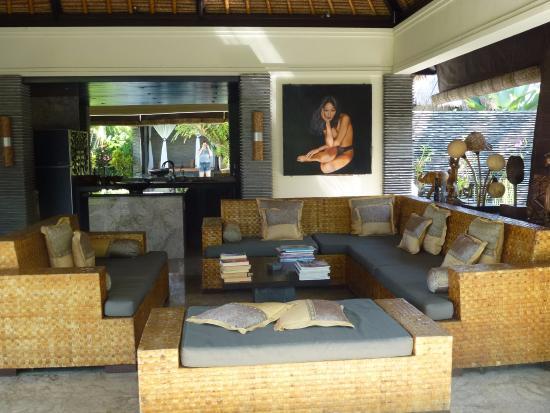 The Zala Villa Bali: living room