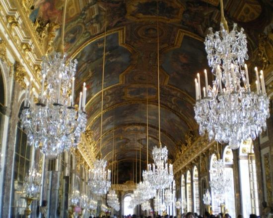 Hall Of Mirrors Palace Of Versailles Picture Of Versailles