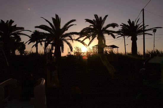 Sunset at Rethimno Kart