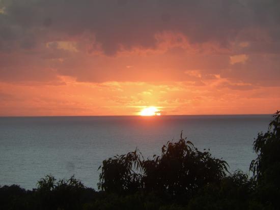 Warrawong Lodge: Sunrise view from verandah