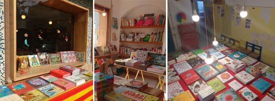 Can Xic Botiga Taller: Illustrated books on 23th april Sant Jordi