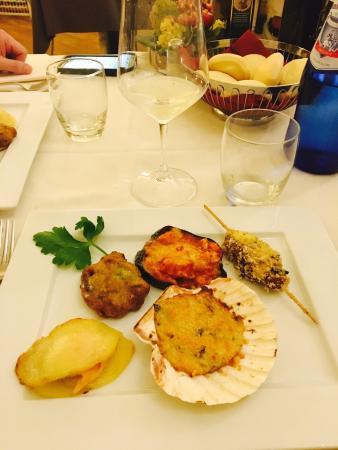 Ristorante San Martino: Menu dégustation