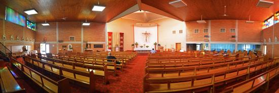 St Peter Claver's Church: Nave
