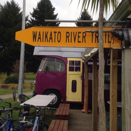 Mangakino, Νέα Ζηλανδία: Cool little cafe on the lakefront