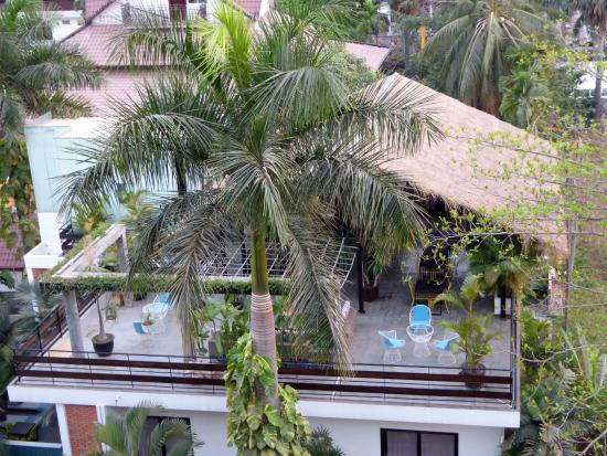 City River Hotel: Вид с крыши