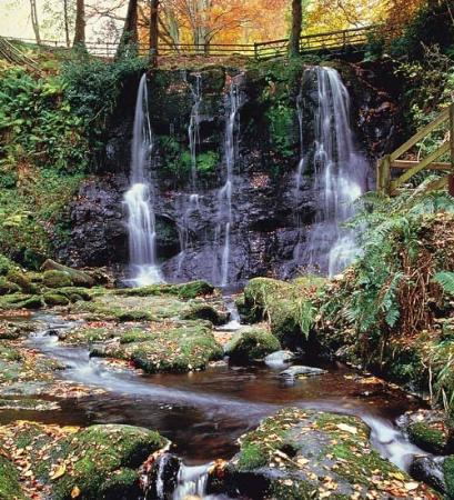 GLenariffe Waterfalls.