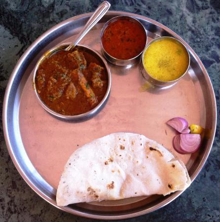 Surmai fish thali picture of annapurna gard restaurant - Annapurna indian cuisine ...