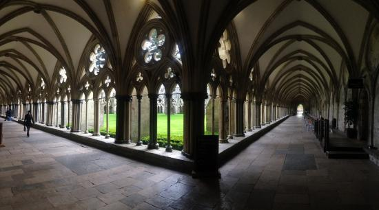 Salisbury Cathedral: cloitre