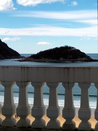 Hotel Niza: View from the balcony