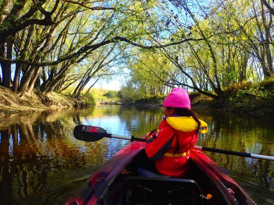 Sutton, Canadá: kayaking in autumn