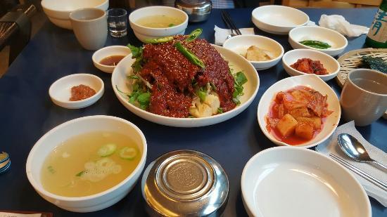 Haeundae Sin Spicy Cod Soup